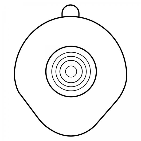 STOMOCUR® Clic Basisplatte