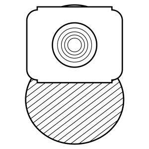 STOMOCUR® Kolostomiebeutel Select MicroSkin® mit Hautschutzring