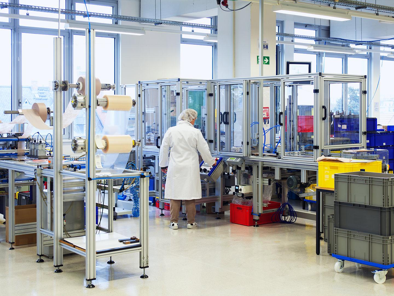 FORLIFE Produktion Glastüren