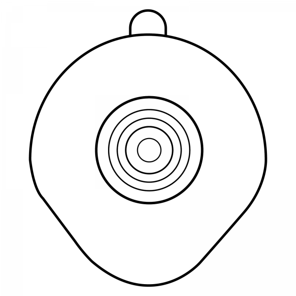 STOMOCUR® Clic Basisplatte konturiert